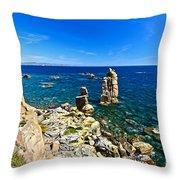 Le Colonne - Carloforte Throw Pillow