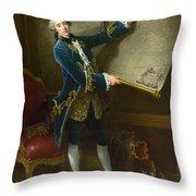 Le Comte De Vaudreuil Throw Pillow