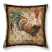 Le Coq Trio-c Throw Pillow