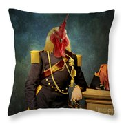 Le General Throw Pillow