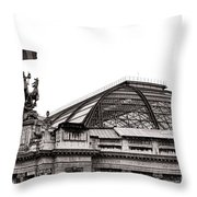 Le Grand Palais Throw Pillow by Olivier Le Queinec