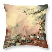 Le Souffle De L Ange Throw Pillow by Isabelle Vobmann
