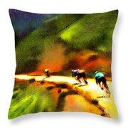 Le Tour De France 02 Throw Pillow