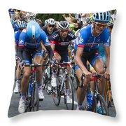 Le Tour De France 2014 - 2 Throw Pillow