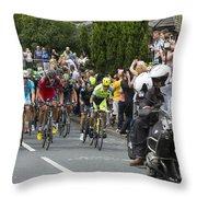 Le Tour De France 2014 - 5 Throw Pillow