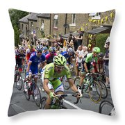 Le Tour De France 2014 - 7 Throw Pillow