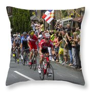 Le Tour De France 2014 - 9 Throw Pillow
