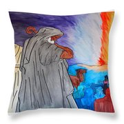 Lead By The Pillar Of Fire Throw Pillow