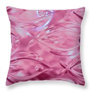 Lead Crystal Vase 2 Throw Pillow
