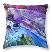 Lead Me To The Rock-psalm 61vs2 Throw Pillow