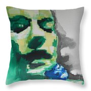 Lead Singer Of The  R E M  Band Throw Pillow