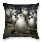 Leader Of The Band Throw Pillow
