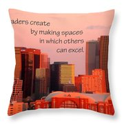 Leaders Create 21197 Throw Pillow