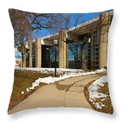 Leading Performance Throw Pillow