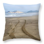 Leading To The Cape Throw Pillow