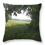 Leaf Cover Throw Pillow