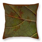 Leaf Design I Throw Pillow