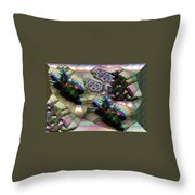 Leaf Mould Throw Pillow