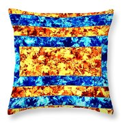Leaf - Opposites  Throw Pillow