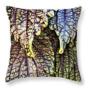 Leaf Series 15 Throw Pillow