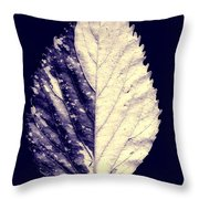 Leaf Series Twin Shade Throw Pillow