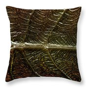 Leafage Throw Pillow