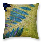Leafscape 1 Throw Pillow