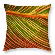 Leafscape 2 Throw Pillow