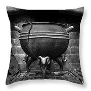 Leaky Cauldron Throw Pillow