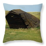 Lean To The Wind Throw Pillow