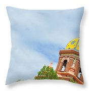 Leaning - Architectural Detail Throw Pillow