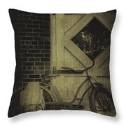 Leaning Throw Pillow