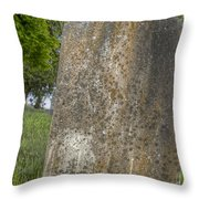Leaning Over Throw Pillow
