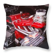 Leaning Tower Of Power Throw Pillow