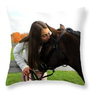 Leanna Abbey 13 Throw Pillow