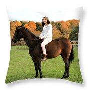 Leanna Abbey 17 Throw Pillow