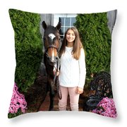 Leanna Abbey 2 Throw Pillow
