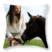 Leanna Abbey 14 Throw Pillow