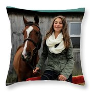 Leanna Gino 14 Throw Pillow