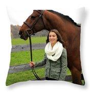Leanna Gino 18 Throw Pillow