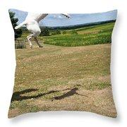 Leap Higher Throw Pillow