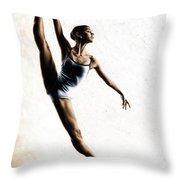 Leap Of Faith Throw Pillow