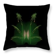 Leapin Frogs Throw Pillow