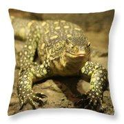 Leapin Lizards Throw Pillow