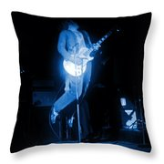 Leaping Hagar In Spokane 1977 Throw Pillow