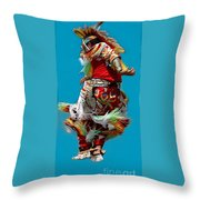 Leaping Into The Air Throw Pillow