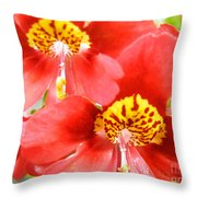 Leapord Skin Pillbox Hat Throw Pillow