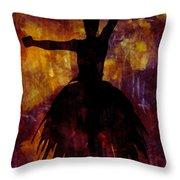 Learning The Steps 3 Throw Pillow