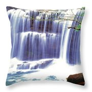 Leatherwood Falls Throw Pillow