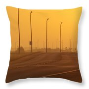 Leave Well Enough Alone Throw Pillow